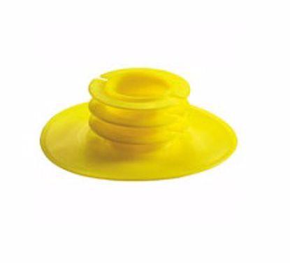 Obrázek Krytky čel přírub Typ 5 , LDPE, žluté