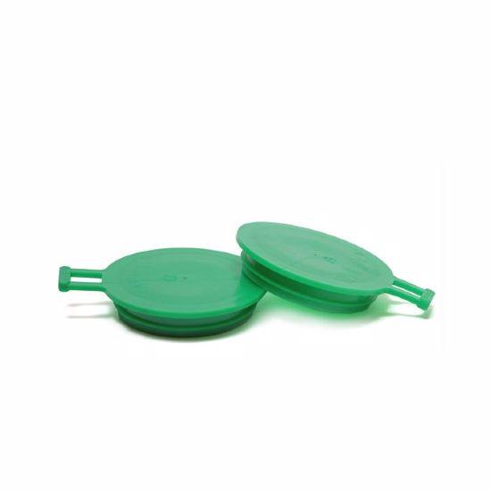 Obrázek z Zátky s ouškem a jednou lamelou, zelené, PE
