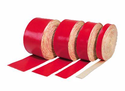 Obrázek Žáruvzdorná bandáž, červená (balení 10m)