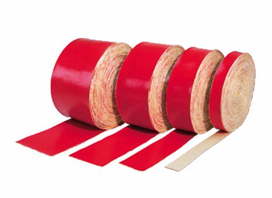 Obrázek z Žáruvzdorná bandáž 50x3mm, červená (balení 10m)