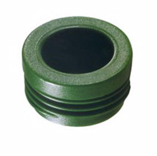 Obrázek z Zátky se závitem pro výměníky, PA 6, zelené