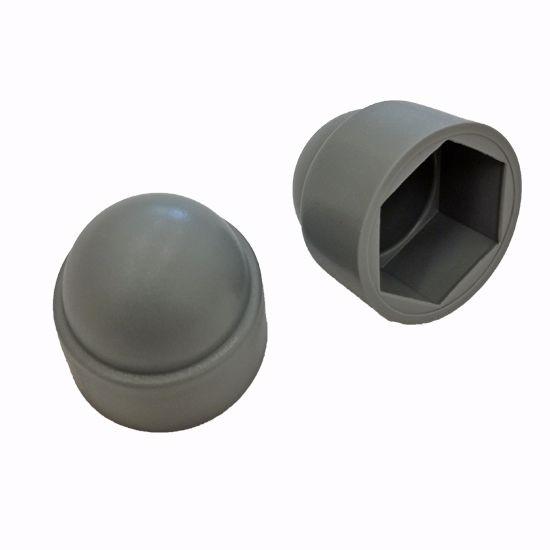 Obrázek z Krytka šroubů a matic D=43,9mm M24 LDPE šedá