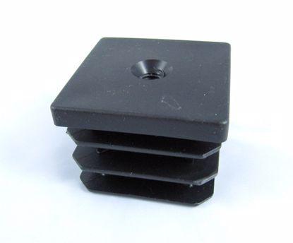 Obrázek Zátky jeklu čtvercové se závitem plast