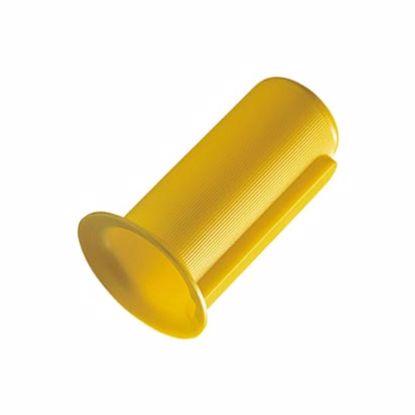 Obrázek Ochrany hřídelí, LDPE, žluté