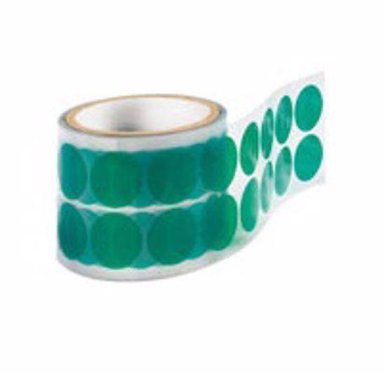 Obrázek z Maskovací výseky kruhové do 200C, polyester, zelené