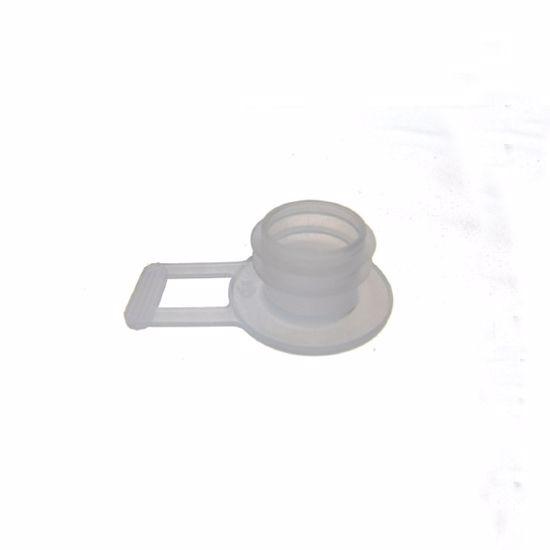 Obrázek z Zátka s ouškem a dvěma lamelami D=21,5mm přírodní PE