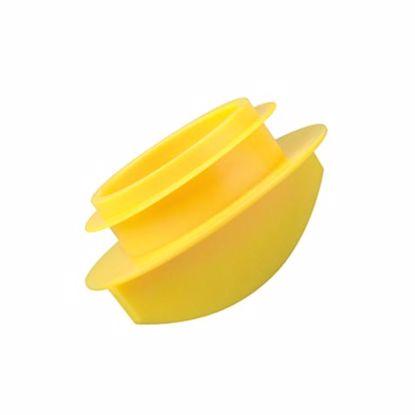 Obrázek Rychlonasazovací zátky, LDPE, žluté