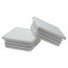 Obrázok z Zátky jaklov štvorcové LDPE biele
