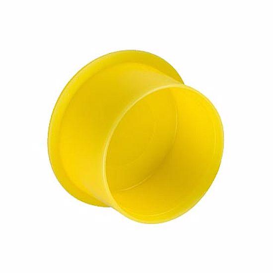 Obrázok z Krytky rýchlonasadzovacie pre závity, LDPE, žltá, červená