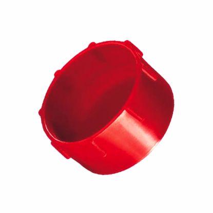 Obrázok Krytky so závitom Typ 2, LDPE, červené