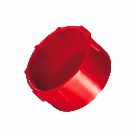 Obrázok z Krytky so závitom Typ 2, LDPE, červené