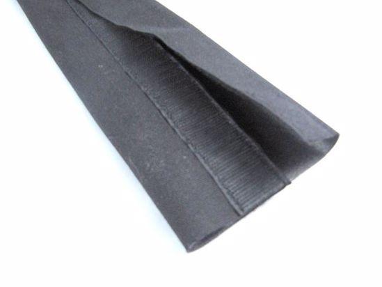 Obrázek z Ochranné textilní návleky se suchým zipem PA, černé