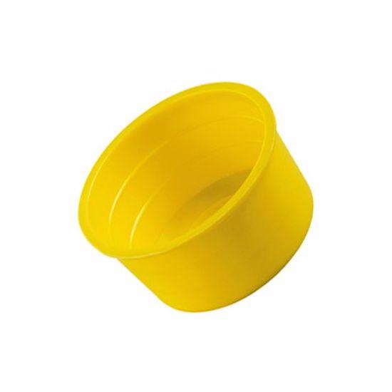 Obrázok z Krytky/zátky kónické Typ 1, LDPE, žlté