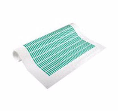 Obrázek Maskovací výseky do 200C, polyester, zelené