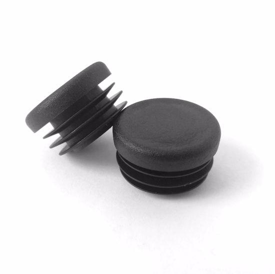 Obrázek z Zátky trubky, LDPE, černé