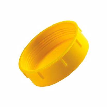 Obrázok Krytky so závitom Typ 1, LDPE, žlté